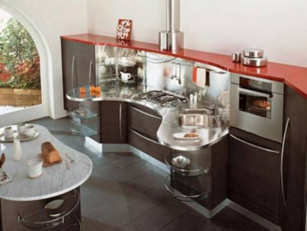 Amazing Kitchen Design By Snaidero's Ola Kitchen