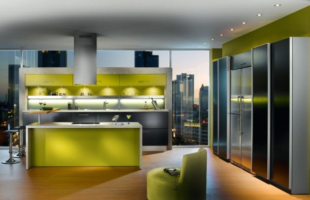 Attractfull Kitchen Design By Snaidero's Ola Kitchen