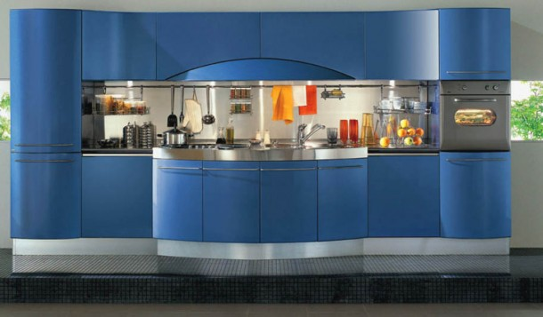 Attracting Kitchen Design By Snaidero's Ola Kitchen