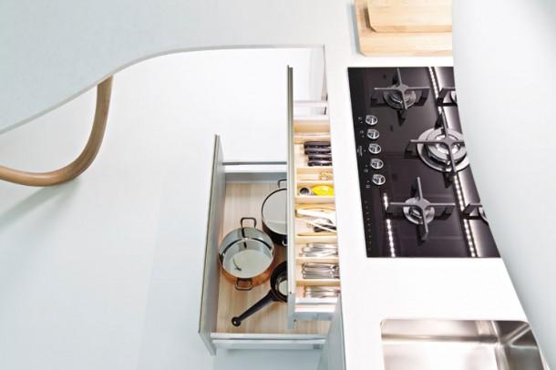 Attractive Kitchen Design By Snaidero's Ola Kitchen