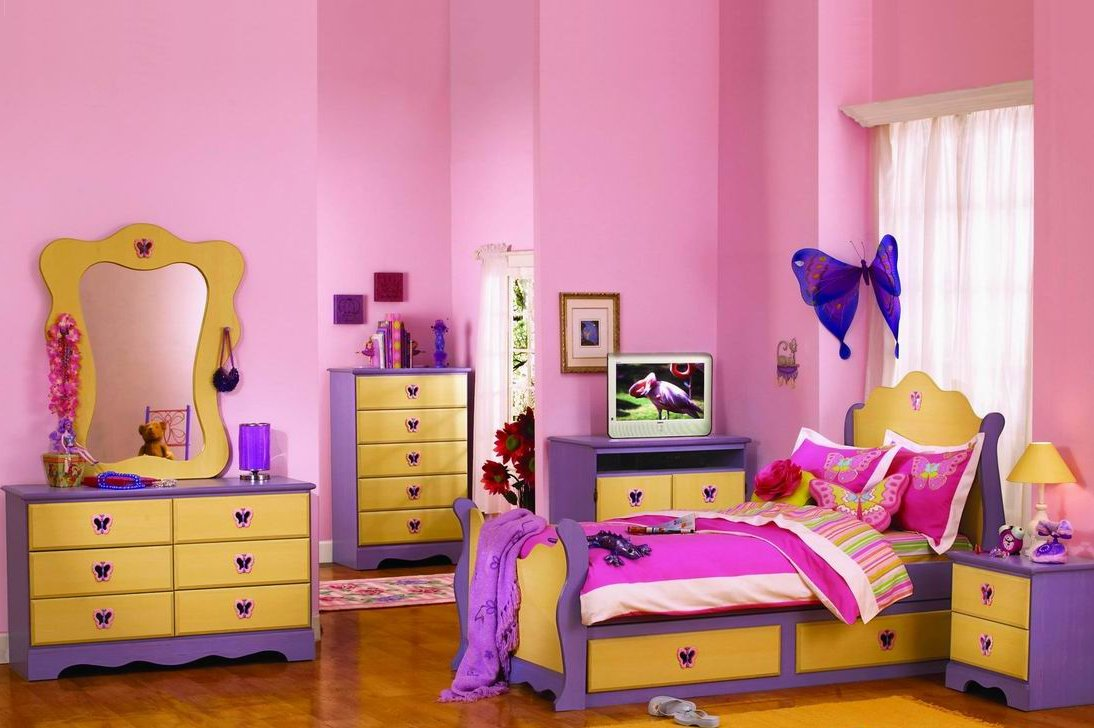 Fabulous Butterfly Inspired Bedroom Designs