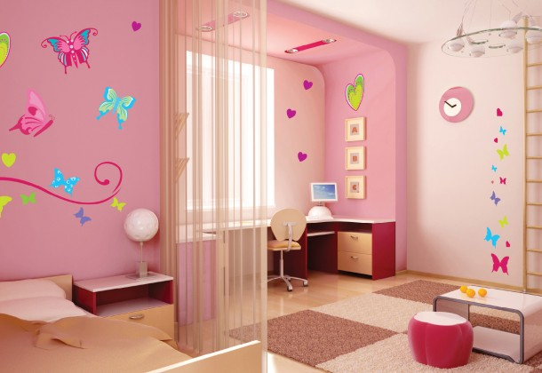 Beautiful IButterfly Bedroom Designs