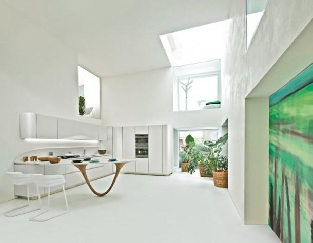 Beautiful Kitchen Design By Snaidero's Ola Kitchen