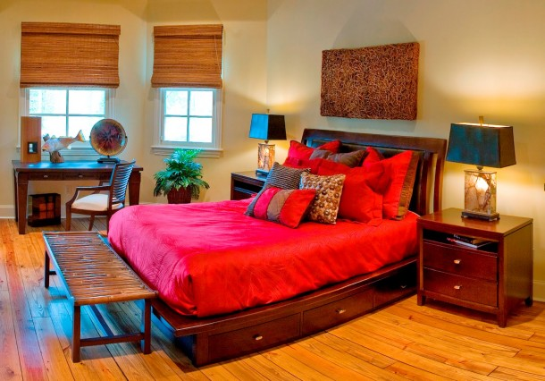 Colorfull Design for Bed Room