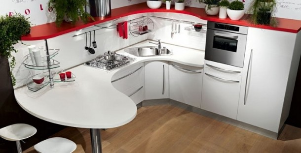 Delightfull Kitchen Design by Snaidero's Ola Kitchen