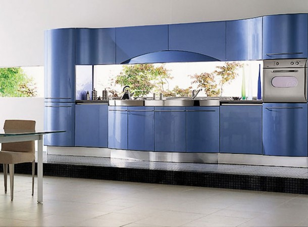 Eye Catching Kitchen By Snaidero's Ola Kitchen