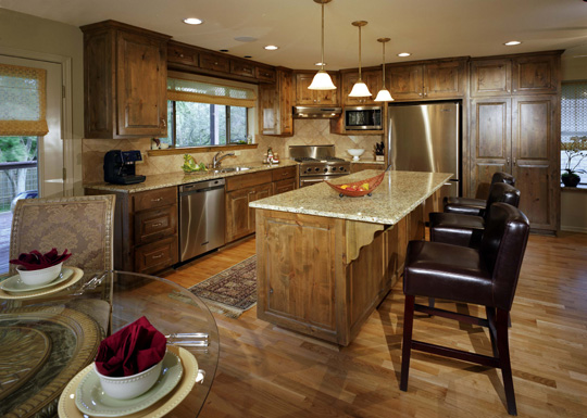 Eye Catching View of Kitchen Designed By Ponache