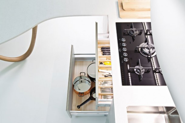 Fabolous Kitchen Design By Snaidero's Ola Kitchen