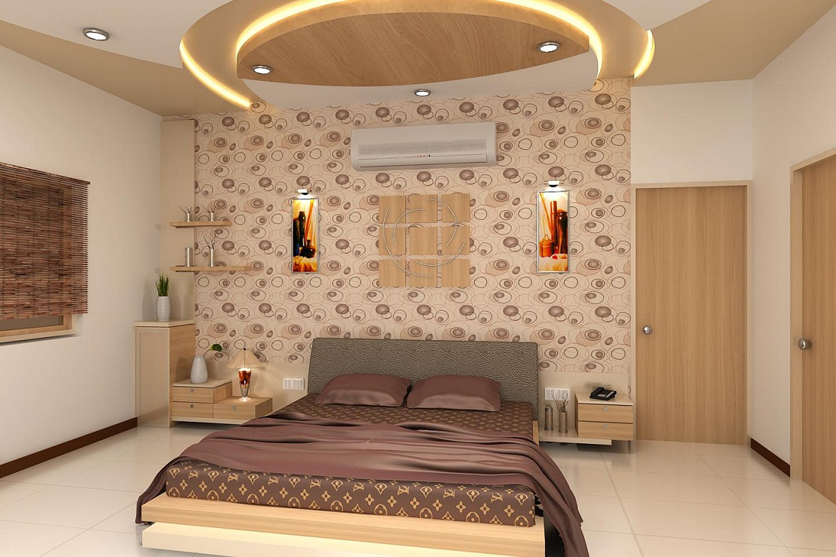 Latest Wonderful Designs For Bed Room 3d Architecture Renderings