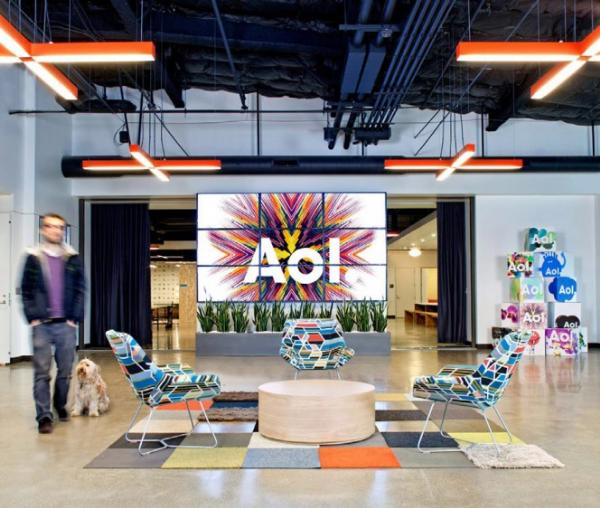 Incredible Office Interior Decoration of AOL