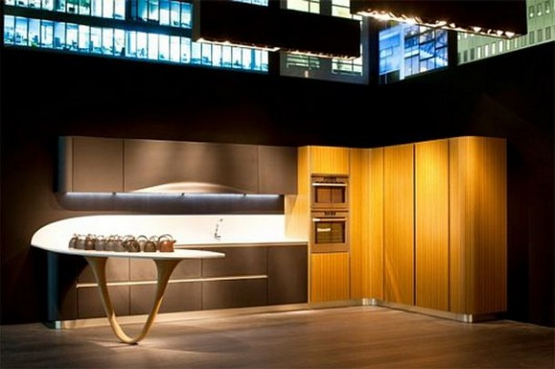 Terrific Design of Kitchen By Snaidero's Ola Kitchen