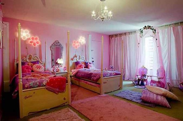 Colorful Bedroom desingn for Teen Ages