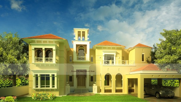 3d model residential building
