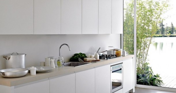 New design of kitchen of modern world