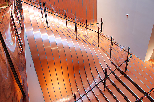 Longchamp flagship store stairs