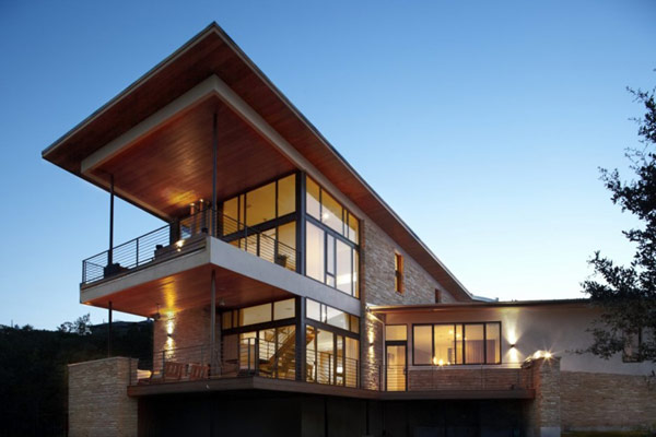 Beautiful Lake Travis Residence by Hsu Office of Architecture