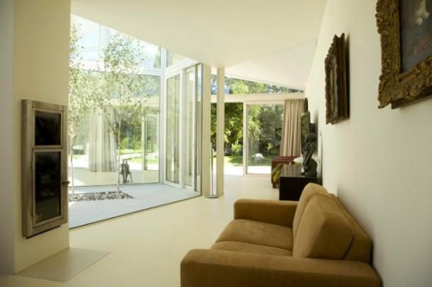 Awesome Transparent villa comfortable Sunroom