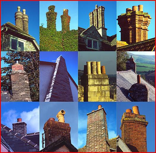 Stylish Chimneys
