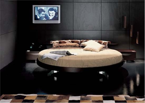 Contemporary Round Beds Design