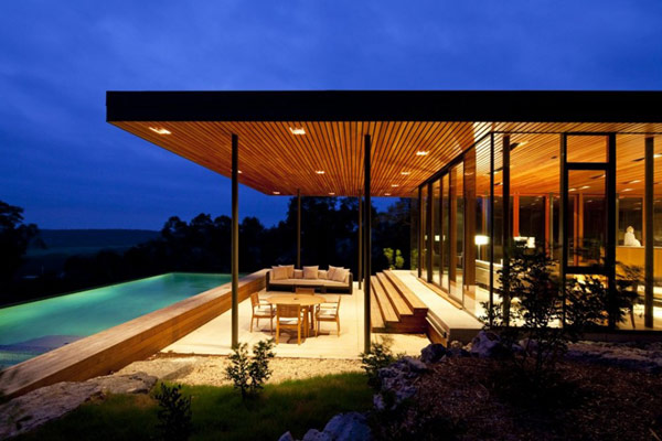 Texas modern home architects