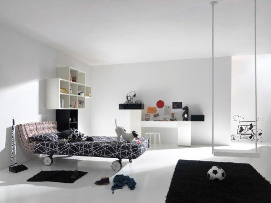 Modern Kids Interior Room Decoration