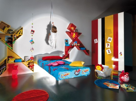 Creative and Unique Kids Interior Room Decoration