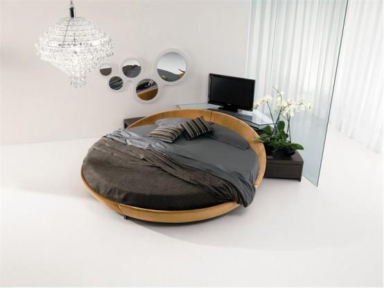 Ideal Round bed Design Ideas