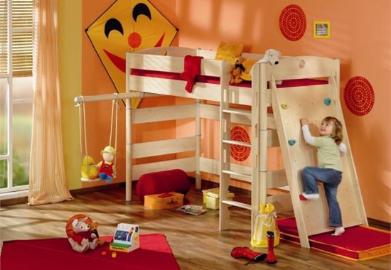 Playful Kids Interior Room Decoration