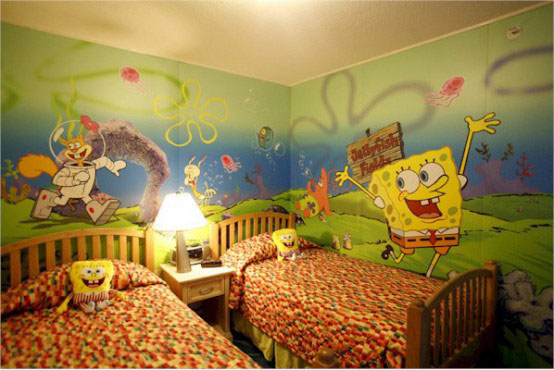 colorful Kids Interior Room Decoration