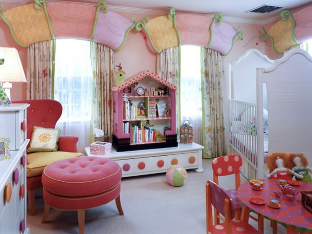 Beautiful Interior Room Decoration in Kids Rooms