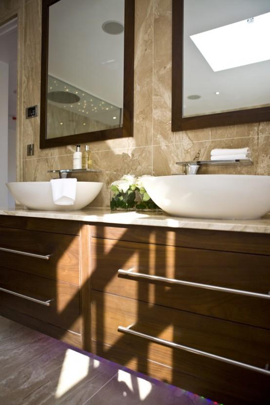 Extraordinary Modern Bathroom Interior Design Ideas by Blanca Sanchez