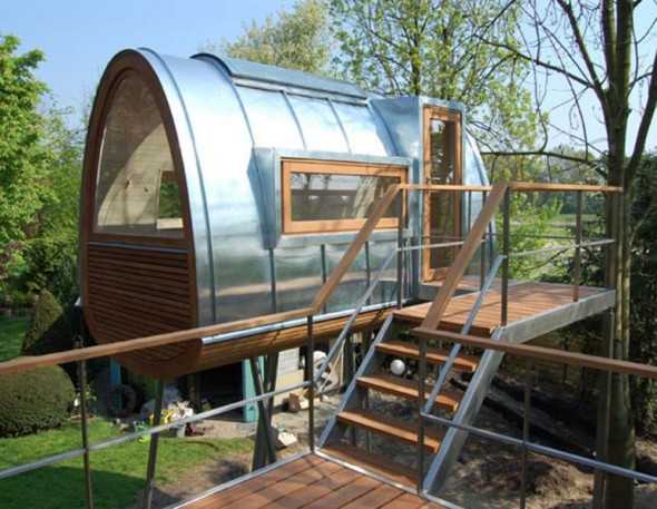 Futuristic Tree House Designs Images