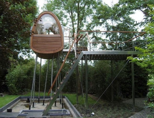 Tree House Architectural Designs Concept of Tree House Design