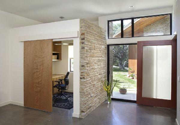 Home Office Design at  Lake Travis Residence