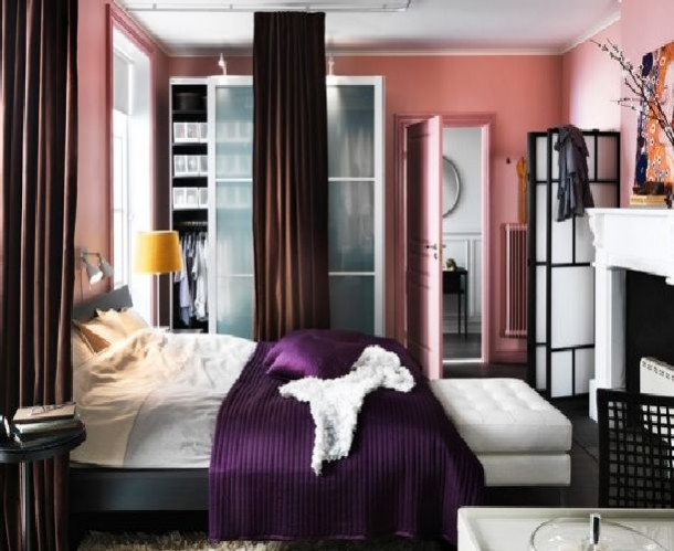 IKEA Modern Bedroom Design Ideas 2012
