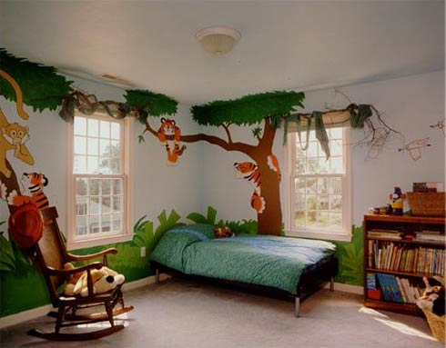 Latest Creative and Unique Kids Interior Room Decoration Design