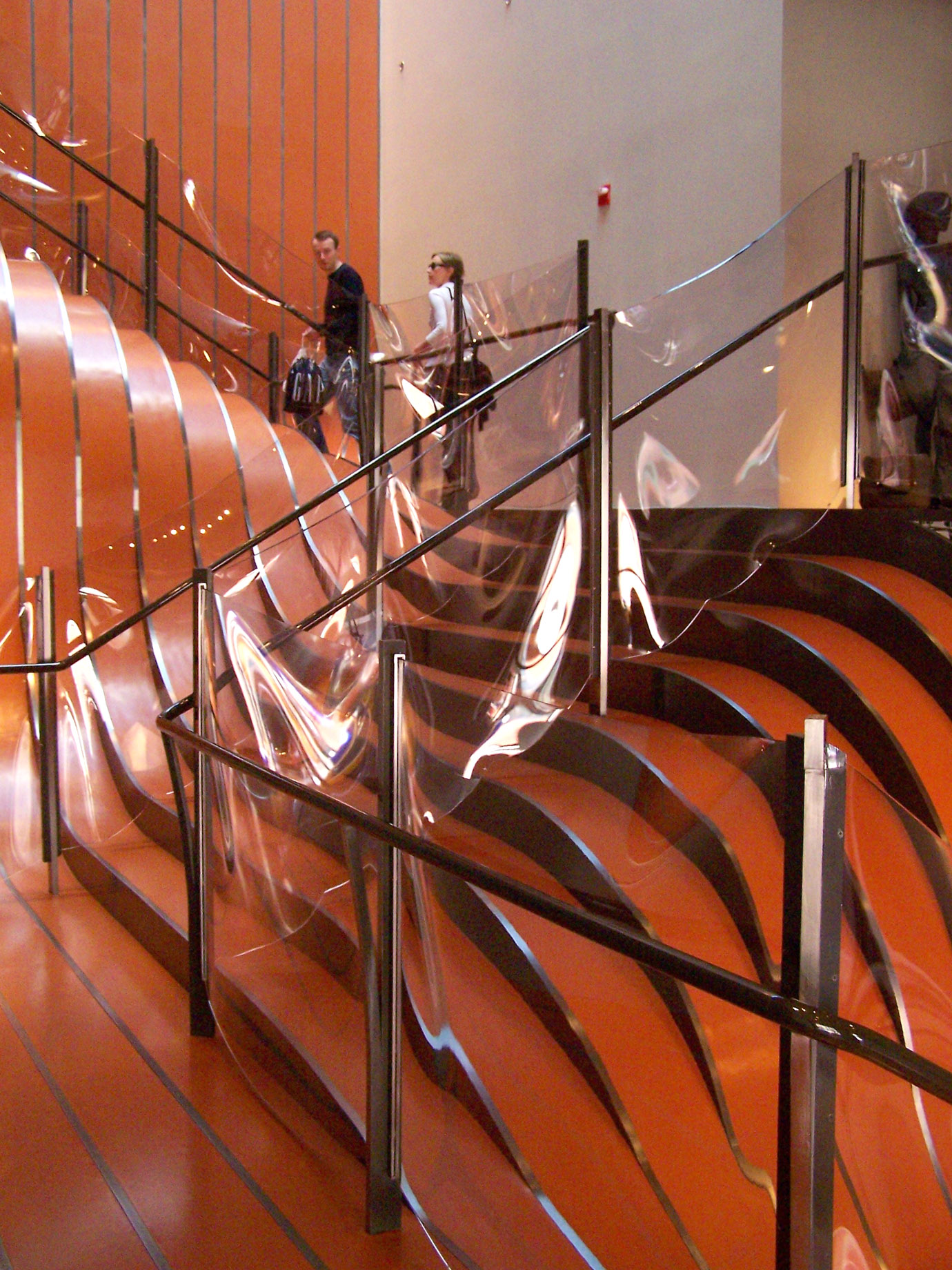 Unusual and Creative Staircase Designs at the Longchamp Store in New York City