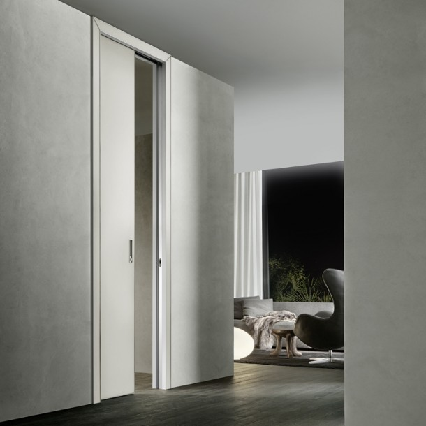 Luxor door designed by Rimadesio