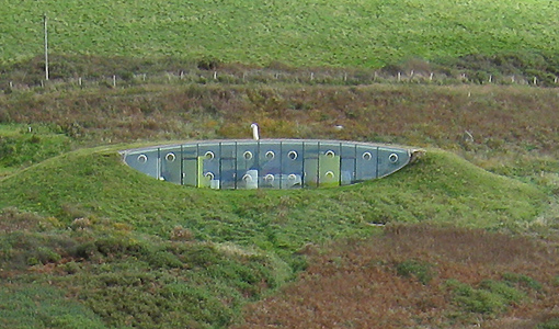 Tunnel Shape Malator House in England