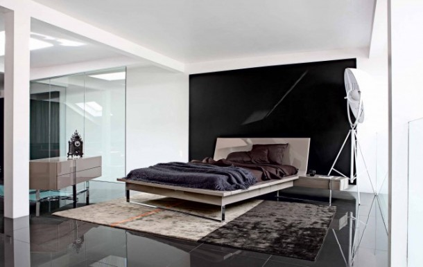 Minimalist bedroom  by Roche Bobois