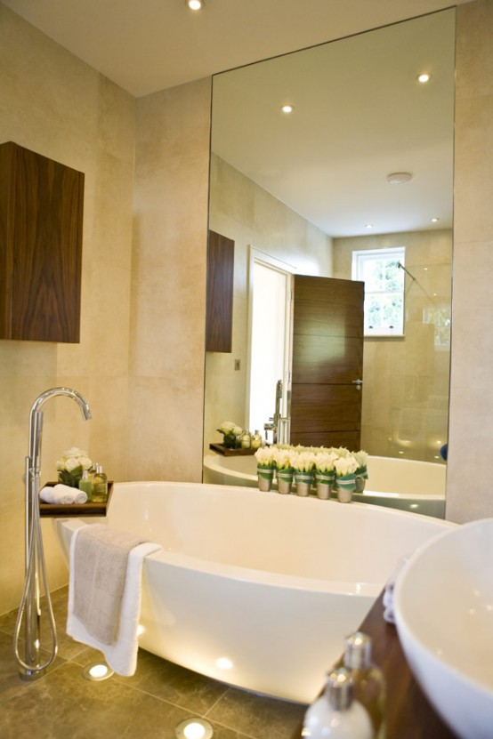 Refined Bathroom Interior Design Ideas by Blanca Sanchez