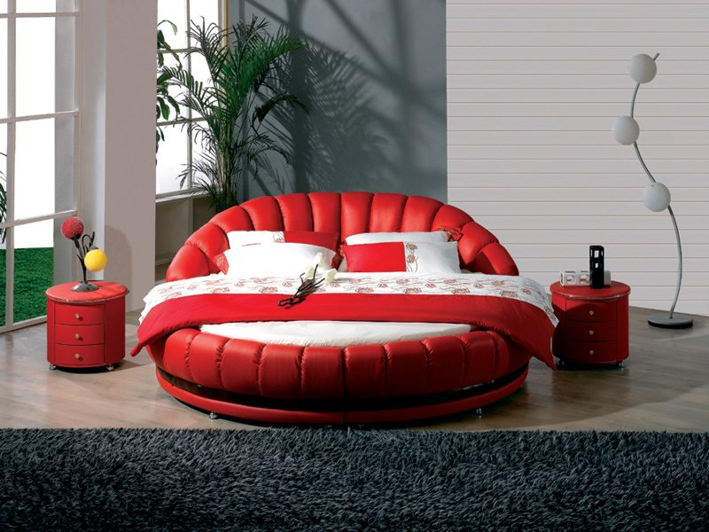 Ultra Luxury Contemporary Cool and Marvelous Round Beds Design Ideas