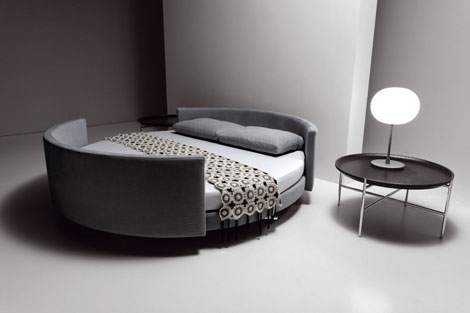 Round Corners Bed Design