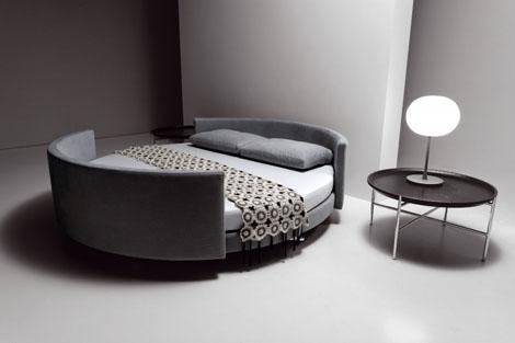 Round Corners Bed Design