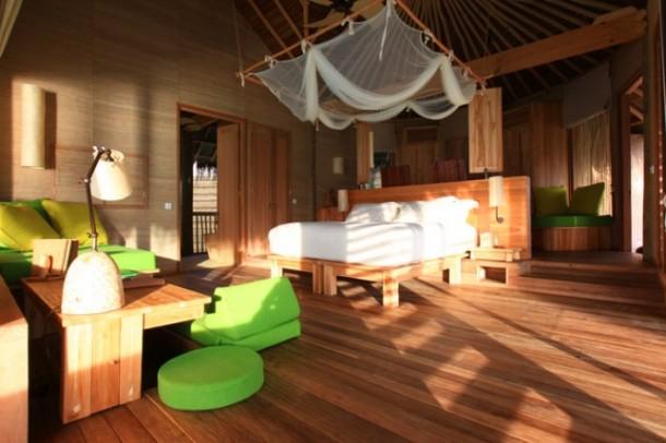 Six senses bedroom