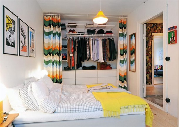 modern swedish bedroom designs creatove closet design house pictures - Closet Bedroom Design