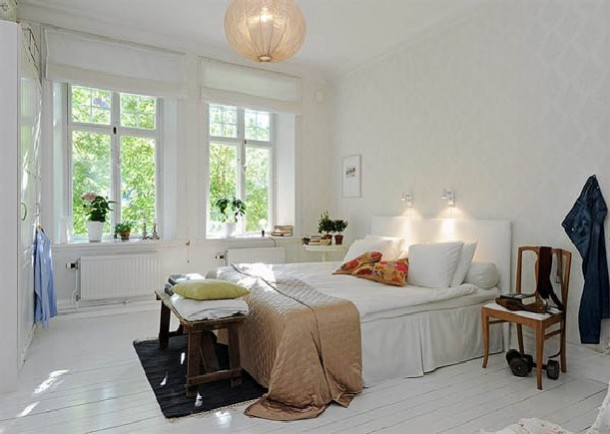 The Modern Swedish Bedroom Minimalist design