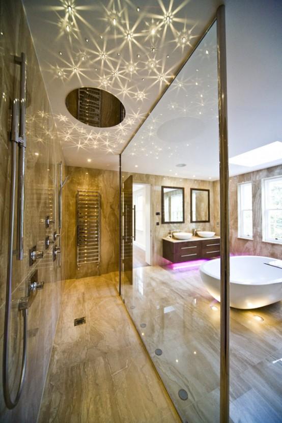 Transparent Bathroom Interiors Design Ideas by Blanca Sanchez