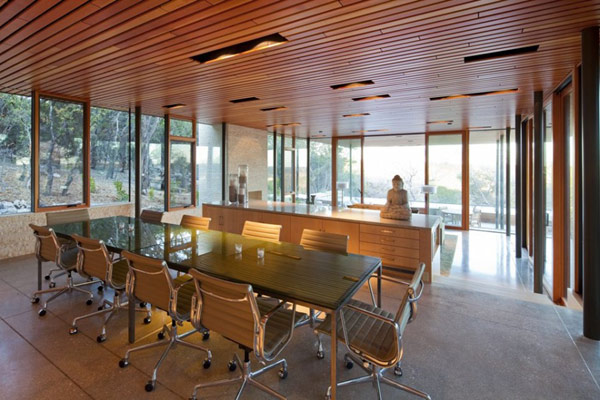 Wimberley House Interior Dining Room