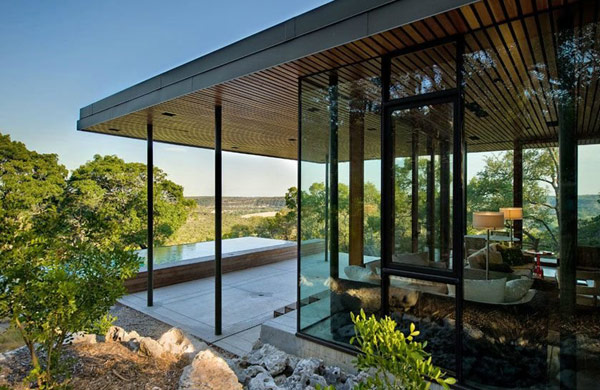 Wimberley House modern home